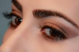 Wimpernserum - schöne dichte und lange Wimpern nach 4 Wochen