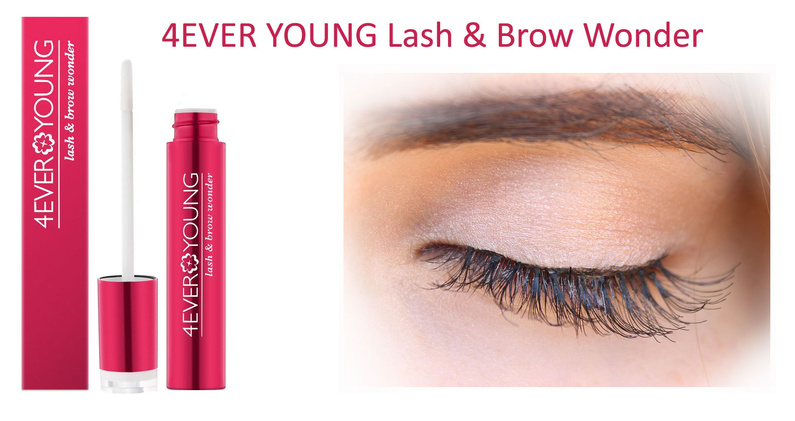 4EVER YOUNG Lash & Brow Wonder