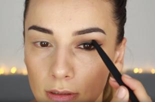 Schlupflider schminken - so geht es richtig
